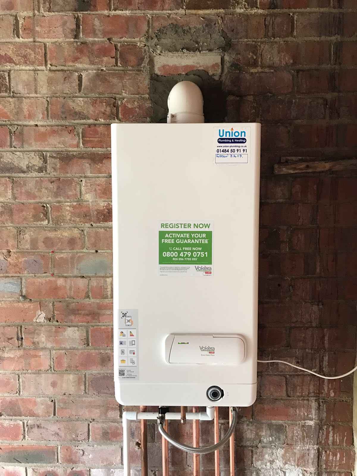 Gas Boiler Installation West Yorkshire Union Plumbing
